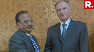 NSA Ajit Doval Meets Russian Counterpart, Moscow Backs India