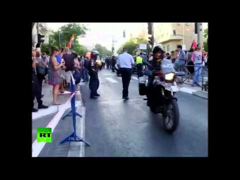 6 stabbed at gay pride parade in Jerusalem