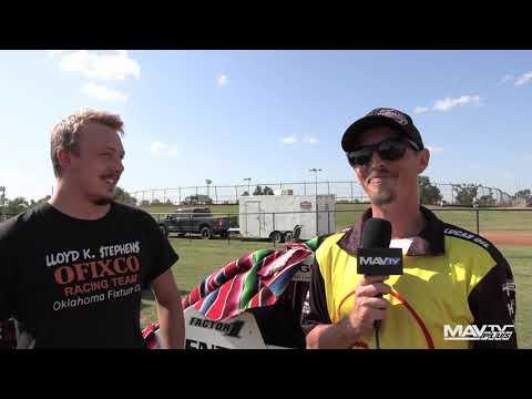 8.28.21 POWRi Pit Walk at I-44 Riverside Speedway - dirt track racing video image