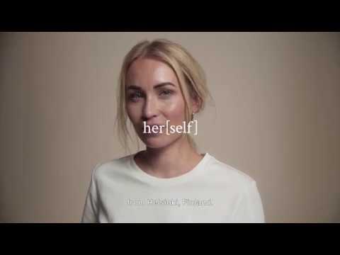 [sini] her[self]