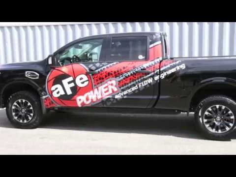 aFe Power Scorcher HD 2017 Nissan Titan XD Cummins Diesel