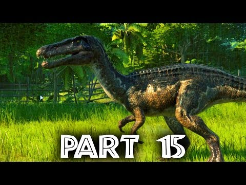 Jurassic World Evolution Gameplay Walkthrough Part 15 - FALLEN KINGDOM DLC - Baryonyx