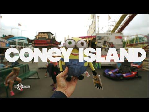 Un Scape Room y Coney Island! Nueva York 2016