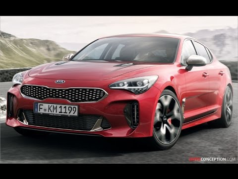 Car Design: 2018 Kia Stinger GT