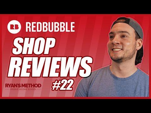 Redbubble Shop Reviews #22 | THEY SENT ME A T-SHIRT 😂