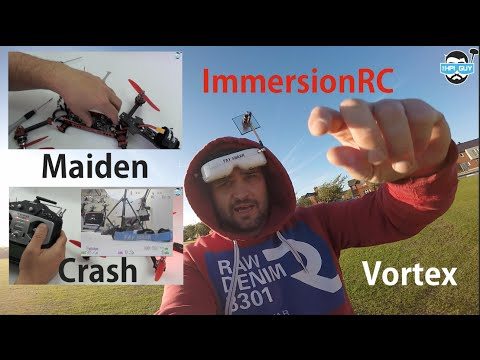 HPIGUY | 2 ImmersionRC Vortex - Maiden Crash - Tandem flight - UCa1Q2ic8wDlT1WH7LSO_4Sg
