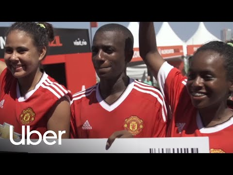 Take the Journey | Uber and Manchester United
