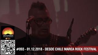 """""""Distorsión desde Chile: Marea Rock Festival"""" #093 sáb 01.12.2018"""