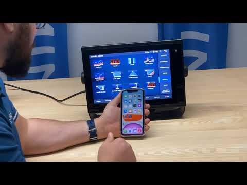 Technik Tipps von Garmin: Wie spiegele ich mein Kartenplotterbild auf ein Smartphone?