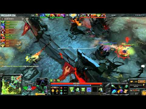 UGC Live Season 4!  Nine Inch Malez vs. Too Many Creeps w/ CptnCanuckDota - 2 / 2