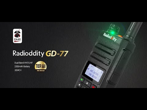 GD77 how to install opengd77 firmware!