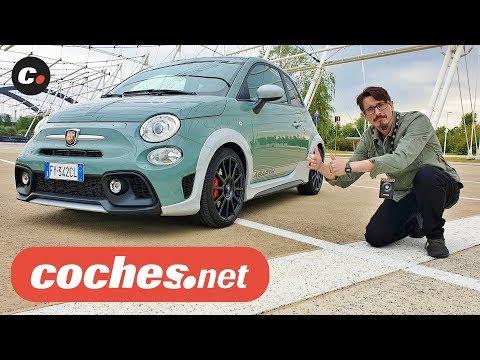 Abarth 695 70º Anniversario   Primera prueba / Review en español   Abarth Days 2019   coches.net