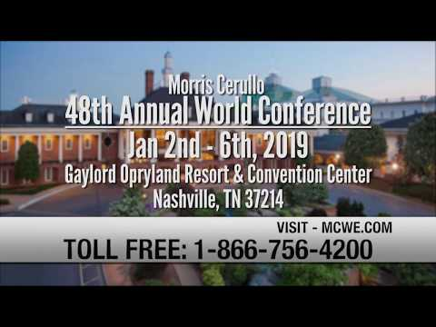 Dr. Mike Murdock at the 2019 World Conference