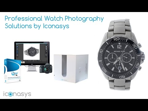 How to Photograph a Watch - Iconasys Product Photography Solutions