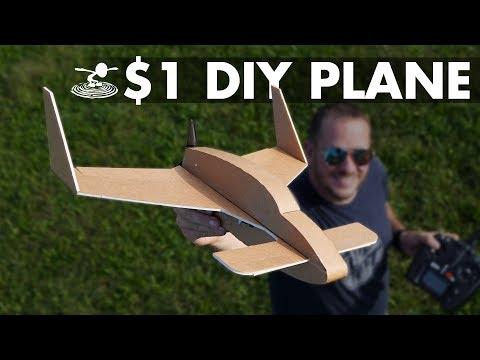 $1 DIY Airplane | FT LongEZ - UC9zTuyWffK9ckEz1216noAw