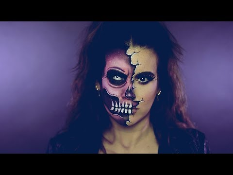 Halloween | Two Faced Skull