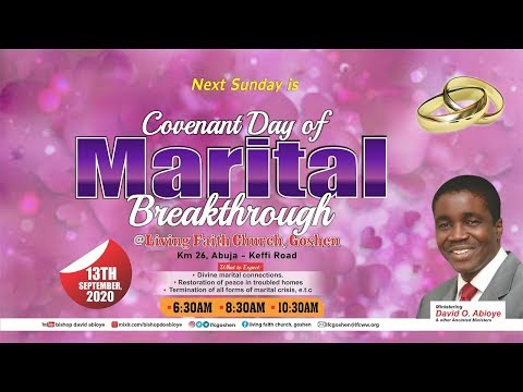 COVENANT DAY OF MARITAL BREAKTHROUGH - 1ST SERVICE ( 13/09/2020 )