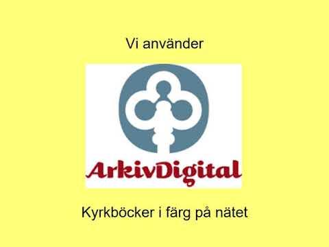 Presentation 1 Arkivens Dag 2020