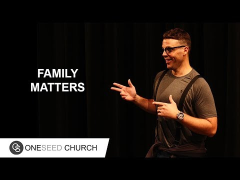 Families are never perfect.  Your family will have matters to deal with but family matters.  --  Subscribe to the latest sermons: https://oneseedchurch.org/sermons/  To support this ministry and help us continue to reach people all around the world click here:  https://oneseedchurch.org/giving/  Discover God's perfect plan made just for you. This is the vision of One Seed Church, led by Pastor Jeff Gwaltney and based in St. Louis, Missouri.  --  Stay Connected  Website:  https://oneseedchurch.org/  One Seed Church Facebook:  http://facebook.com/oneseedchurch.org  One Seed Church Instagram:  https://www.instagram.com/oneseedchurch/  One Seed Church Twitter:  https://twitter.com/oneseedchurch  One Seed Church Mobile App: https://play.google.com/store/apps/details?id=com.customchurchapps.oneseed https://itunes.apple.com/us/app/oneseed/id1248467008?ls=1&mt=8  Jeff Gwaltney YouTube:  https://www.youtube.com/jeffgwaltneyofficial  Jeff Gwaltney Facebook:  https://facebook.com/jeffgwaltneyOfficial/  Jeff Gwaltney Instagram:  https://www.instagram.com/jeffgwaltney/  Jeff Gwaltney Twitter:  https://twitter.com/jeffgwaltney  #jeffgwaltney #oneseedchurch #familymatters