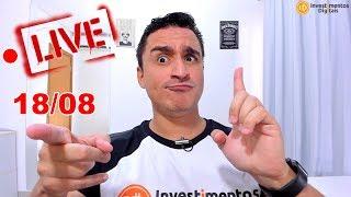 ● Live Piramidão e Bitcoin à 10k 18/08 ! | Com Edilson Lauro