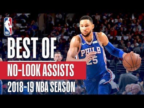 NBA's Best No-Look Assists | 2018-19 NBA Season | #NBAAssistWeek