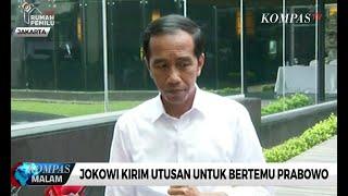 Jokowi Kirim Utusan untuk Bertemu Prabowo