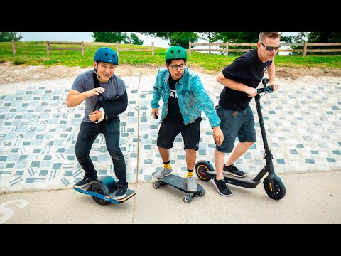 Best Electric Boards/Scooters of 2019? | OneWheel vs Boosted vs NineBot