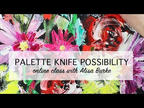 palette knife play online class preview