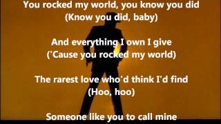 You Rock My World ~ With Lyrics