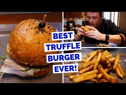 Best Burger in Split, Croatia | Truffle Mayo Hamburger