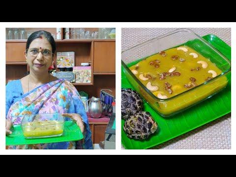 சீதாப்பழ அல்வா / Custard Apple halwa - Mallika Badrinath