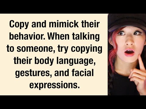 Psychological Tricks To Make Someone LIKE You