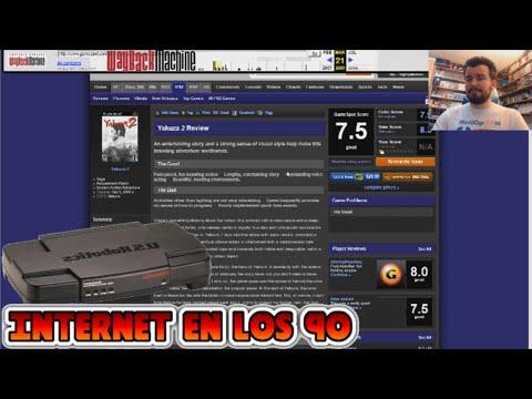 VIAJAMOS A LOS AÑOS 90 DE INTERNET - Wayback Machine