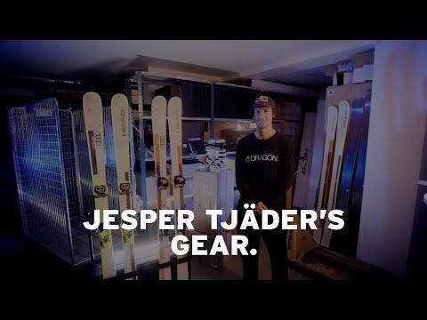 Jesper Tjäder's gear