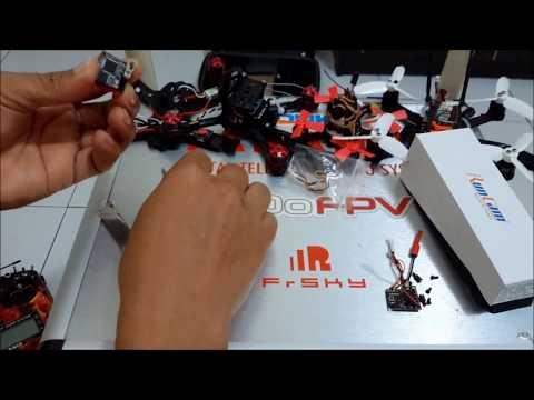 Runcam tx200 5,8ghz test range fpv