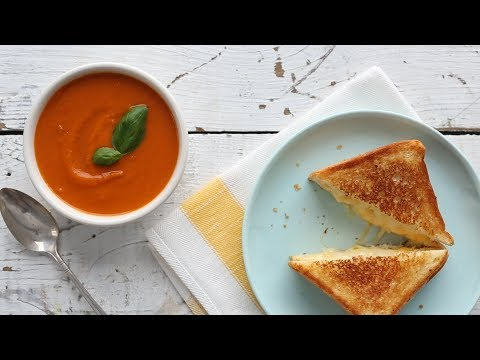 Perfecting Grilled Cheese and Tomato Soup- Everyday Food with Sarah Carey