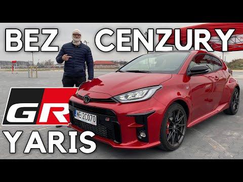 Test Toyota GR Yaris - wersja nieokrojona, bez cięć, za to z bonusem
