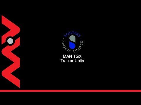 MV Commercial Souters MAN TGX Tractor Units