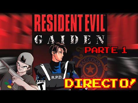 RESIDENT EVIL: Gaiden (2001, GameBoy Color) || Parte 1: En directo!