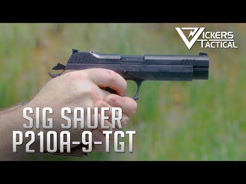 Sig Sauer P210A-9 Target