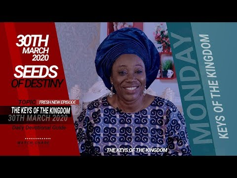 Dr Becky Paul-Enenche - MONDAY, 30TH MARCH 2020