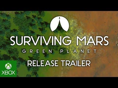 Surviving Mars: Green Planet - Launch Trailer