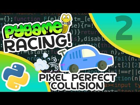 Pygame Car Racing Tutorial #2 - Pixel Perfect Collision