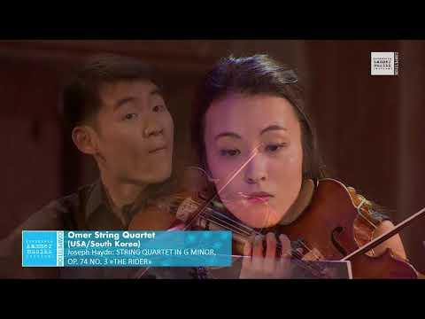 "Omer String Quartet - Joseph Haydn: String Quartet No. 3 in g minor, ""The Rider"", Op. 74"