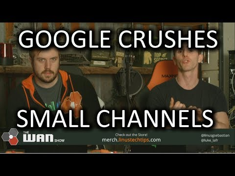 Youtube crushes small cha ...