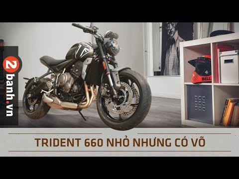 Đánh giá Triumph Trident - mô tô giá rẻ nhưng đầy công nghệ cao cấp | 2banh Review