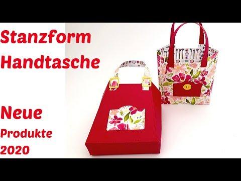 Neue Produkte 2020-Stanzform Handtasche-Produktvorstellung-Stampin' Up!