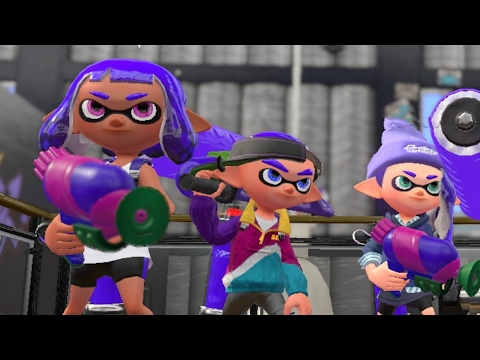 Splatoon 2: Rolling Over the Competition on Musselforge Fitness (1080p/60fps)