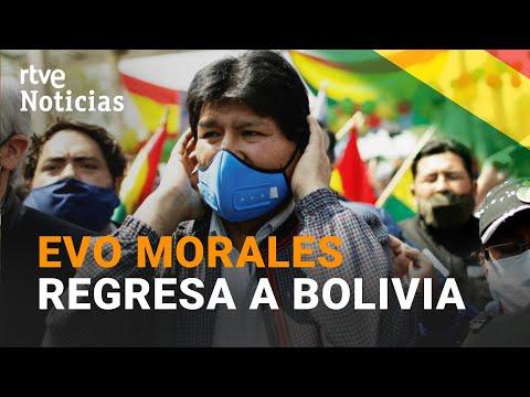 En Bolivia EVO MORALES es recibido por una gran multitud | RTVE