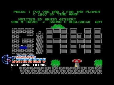 C64 Game Intro: The Great Giana Sisters (Rainbow Arts,1987)